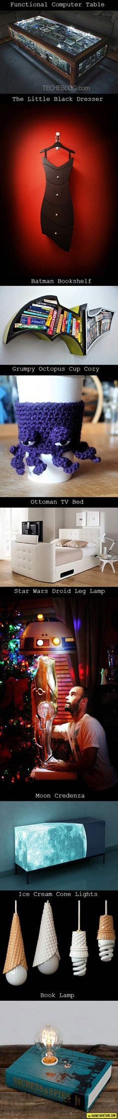 For the geek home…