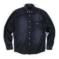 Northern Shirt - Washed Black | indcsn