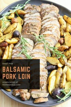Balsamic Pork Loin S