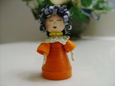 3D Quilled woman