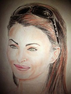 Aish - Sketching by Harshal Wankhede in My Sketches at touchtalent 53647