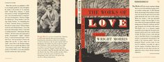 Facsimile Dust Jackets L.L.C.: Works of Love, The by Morris, Wright