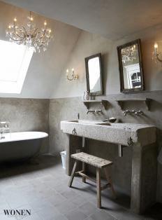 Badkamer on pinterest toilets bathroom and met - Lavabos ontwerp ...