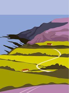 Heather on the Yorkshire Moors - Ian Mitchell