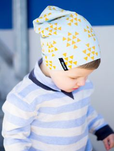 Image of Golden Triangle Slouch Beanie