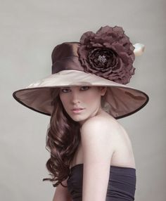 What I would love to do... make beautiful hats like this...