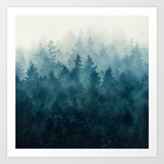 Really wanting some trees/forest prints for the bathroom