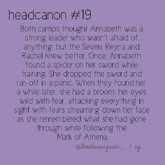 Percy will always be there for you Annabeth don't worry.