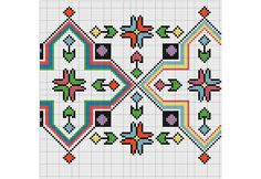 Easy Easter Crafts, Bargello, Cross Stitch, Kids Rugs, Embroidery, Traditional, Mandala, Crochet, Boho
