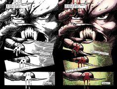 Pagina del Comic Camulus #4 de la primera etapa dibujada pro mí. Originalmente en blanco y negro y coloreado por mí hace muy poco