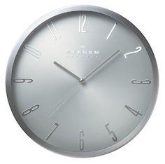 SKAGENDENMARKスカーゲンデンマークClock12インチ掛時計clockCL_WA02MSS