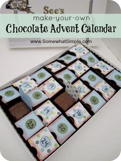 See's chocolate advent calendar!
