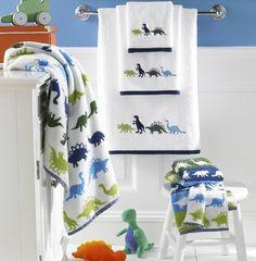 Bambini Dino Park Towels