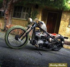 hot rod, muscle cars, rat rods and girls Bobber Bikes, Bobber Motorcycle, Bobber Chopper, Cool Motorcycles, Baggers, Choppers, Bobber Custom, Custom Bikes, Rat Rods