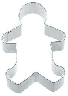 Gingerbread Boy Shaped Cookie Cutter - Perfect for making skeleton cookies! £0.58 each+VAT