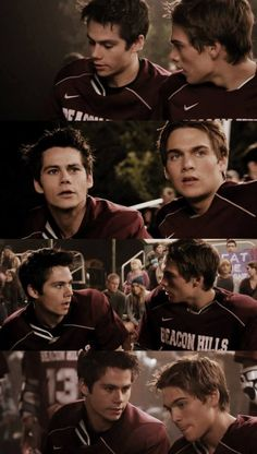 Stiles Stilinski & Liam Dunbar.....everyone in this show is extremely attractive <3 ESPECIALLY LIAM PLAYED BY DYLAN SPRAYBERRY