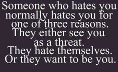 Hate...such a strong word!
