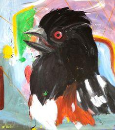 Original PaintingThe Flipping TowheeSelfie Bird by SeaToCanvas