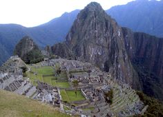What Not To Do In Machu Picchu, Peru: I really want to go here when I'm older and climb the Andes!