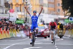 #ParisNice 75th Paris - Nice 2017 / Stage 8 Arrival / David DE LA CRUZ (ESP) Celebration / Alberto CONTADOR (ESP)/ Nice - Nice (115,5km) / ©Tim De WaeleLC/Tim De Waele/Corbis via Getty Images)