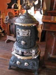 pictures of antique wood burning stoves - Bing Images