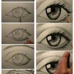 How to draw an eye!!!
