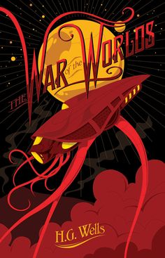 War of the Worlds by MikeMahle on DeviantArt The title gets somewhat lost in the rest of the cover, but as a whole it jumps out me. Fun, fun cover.