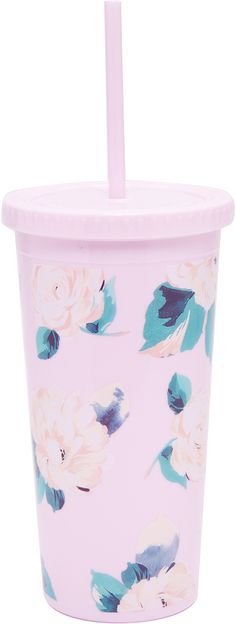 ban.do Lady of Leisure Sip Sip Tumbler with Straw