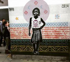#NiUnaMenos / Día Internacional De La Eliminación de la Violencia Contra la Mujer. #bastadefemicidios #nazza #plantilla #stencil #25N #lineaB #mujerbonitaeslaquelucha by nazza.stencil