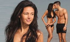 Michelle Keegan and Mark Wright put on an amorous display in Dubai #DailyMail