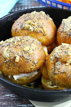 Poppy Seeds Turkey Sliders