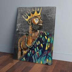 Buy Canvas, Canvas Wall Art, King Painting, Spa Lounge, Family Office, Black King, Kitchen Dinning, Finger Joint, Air Pollution