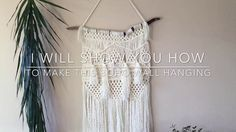 I designed this Bohemian themed Macrame Wall Hanging to use as a tutorial for you. I will take you step by step and show you how I start each section. They a...