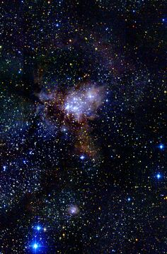 W40 is part of a larger molecular cloud complex at a distance of 1960-2300 light years.