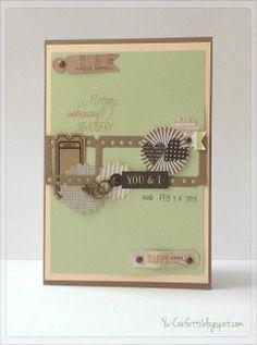 Confetti : Card with love