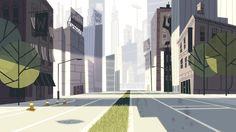 backgrounds for the Powerpuff Girls Danced Pantsed Special on Cartoon Network