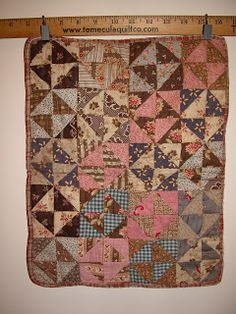 Notes from the Quilt Lab: Antique Doll Quilts on Display