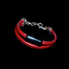 Bransoletka ze skóry i ceramiki. #fuerza #stylizacja #collection #kolekcja #fashion #stylization #woman #kobieta #beautiful #look #bransoletki #bransoletka #bracelets #bracelet #jewelry