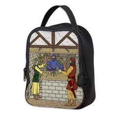 Apothecary Shop Neoprene Lunch Bag on CafePress.com