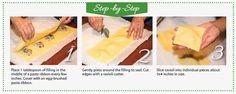 Make Your Own Gluten-Free RAVIOLI #infographic #recipe #glutenfree #pasta