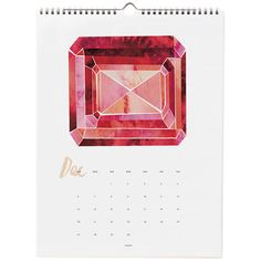 Gem Mineral 2015 Wall Calendar by IdlewildCo on Etsy Diy Calendar, 2016 Calendar, Cool Typography, Art For Art Sake, Geek Out, Gems And Minerals, Paper Goods, Invitation Design, Stationery