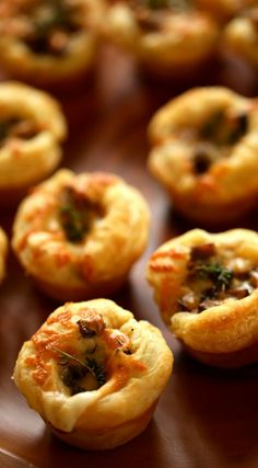 Fancy appetizer ideas made with store-bought puff pastry that are sure to impress! Can even be made 1-week ahead and frozen. Includes video recipes too.