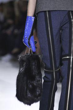 Balenciaga fall-2014 gloves, bag