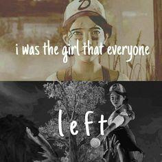 —Я была девочкой, которую все покинули.