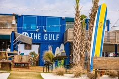 A great place to eat and enjoy the beach- The Gulf at Orange Beach Alabama