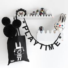 Black white Nordic playtime
