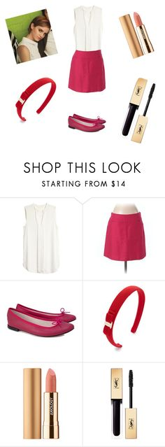 """The Perks of Being a Wallflower - Sam outfit look"" by samantaasoua on Polyvore featuring LOFT, Repetto, Salvatore Ferragamo and Axiology"