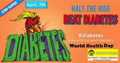 Selamat Hari Kesehatan se Dunia. Tetap aktif dalam melakukan aktifitas untuk mengurangi faktor resiko diabetes #diabetes #whd #OTIndonesiaGoInternational #OTUI #ILUNIOTUI