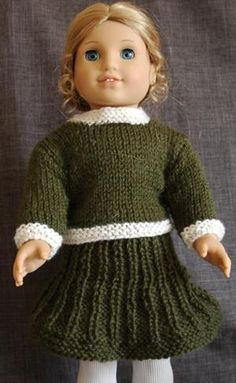 American Girl Doll Classic Suit (Sweater and Skirt)