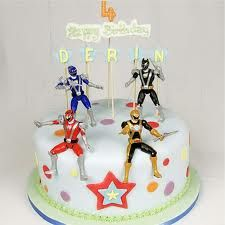 Power Rangers cake idea #3